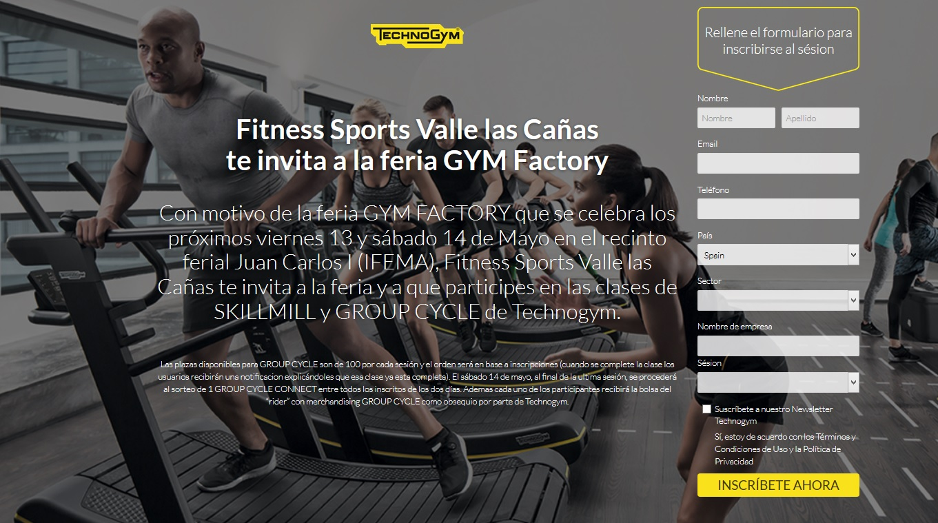 Skillmill-Technogym-Fitness-Sports-Valle-las-Cañas-Feria-Gym-Factroy-IFEMA-Madrid