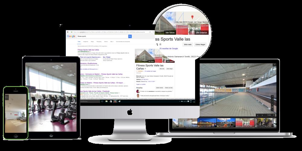 Visita virtual 360º Google
