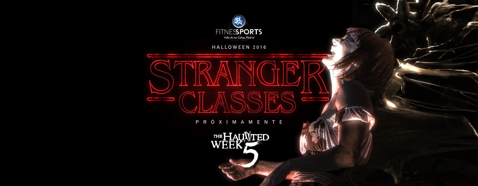 Stranger Things Upside Down Demogorgon Halloween 2016 Haunted Week 5 Fitness Sports Valle las Cañas