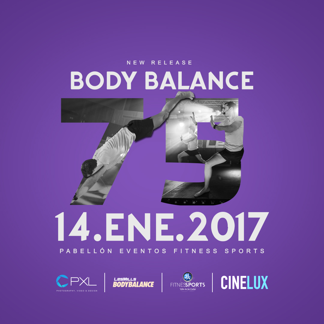 Body Balance 75 Les Mills (New Release 2017) 14.JAN.17 - We are 100 Stronger Box