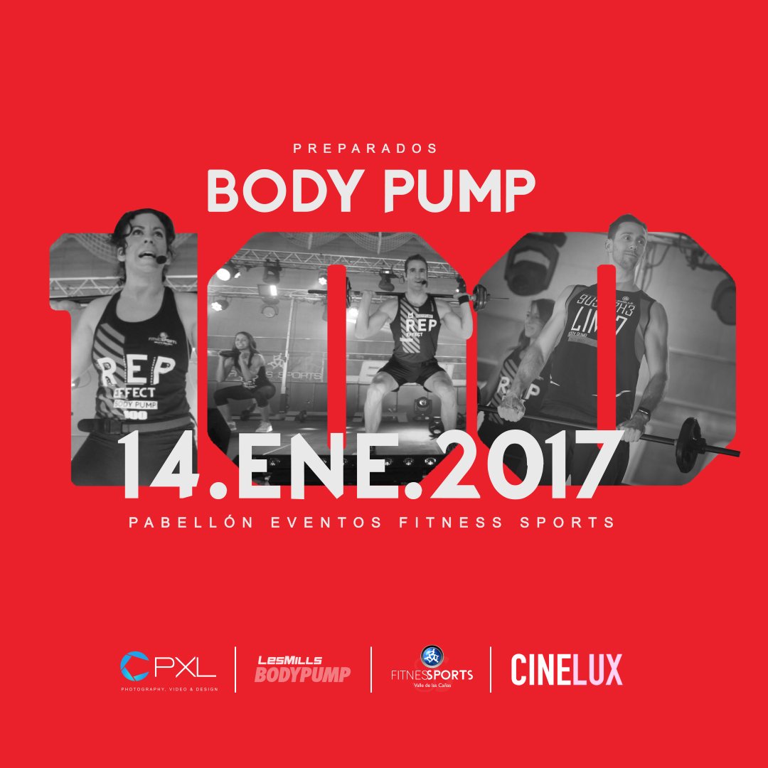 Body Pump 100 Les Mills (New Release 2017) 14.JAN.17 - We are 100 Stronger Box