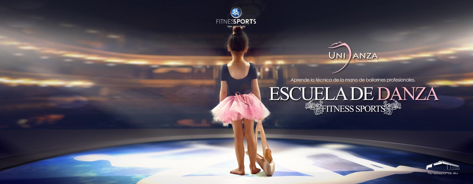 Nueva Escuela Danza Fitness Sports Unidanza Perfect Pixel Agencia de Publicidad en Madrid