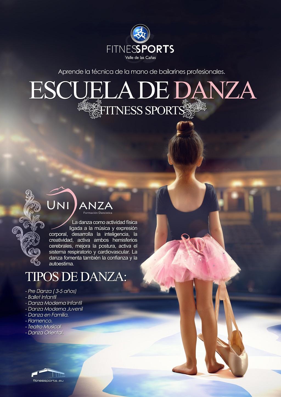 Nueva Escuela Danza Fitness Sports Valle de las Cañas by Perfect Pixel Publicidad Agencia
