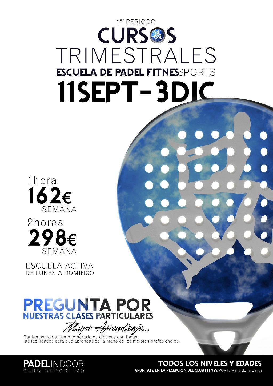 Cursos Trimestrales Fitness Sports Valle de las Cañas Septiembre Perfect Pixel Publicidad LowRes