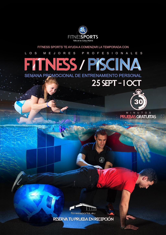 Semana entrenamientos fitness y piscina Fitness Sports Valle de las Cañas
