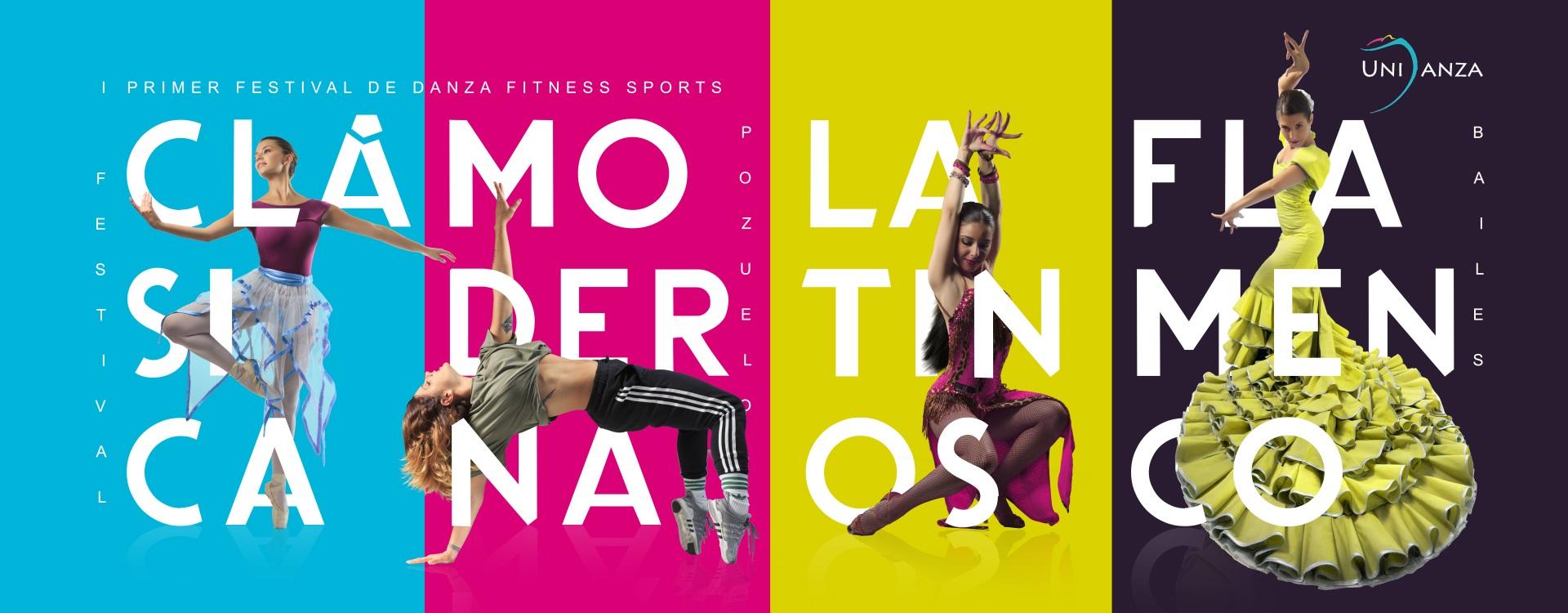 I Festival de Danza Fitness Sports Banner PerfectPixel Publicidad
