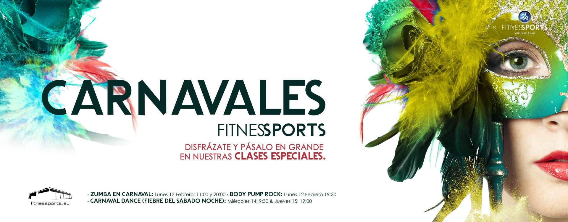 Carnavales Fitness Cartel Perfect Pixel Publicidad Agencia Madrid Banner