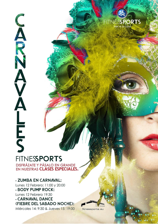 Carnavales Fitness Cartel Perfect Pixel Publicidad Agencia Madrid LowRes