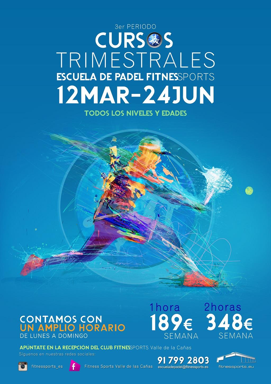 Cartel 3 Periodo Fitness Sports Valle de las Cañas Web Perfect Pixel