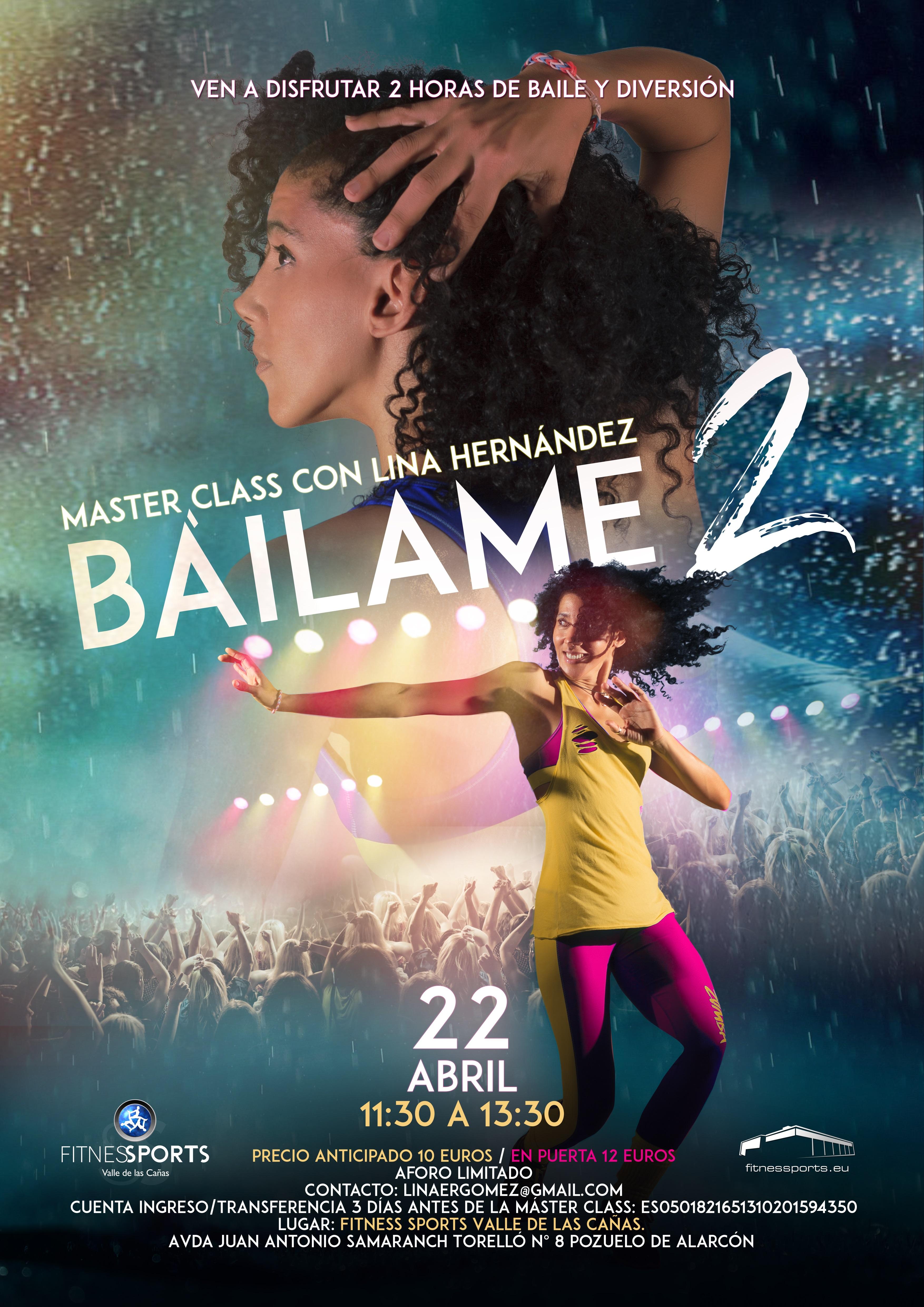 Bailame 2 Cartel Lina Hernandez Fitness Sports Perfect Pixel Publicidad