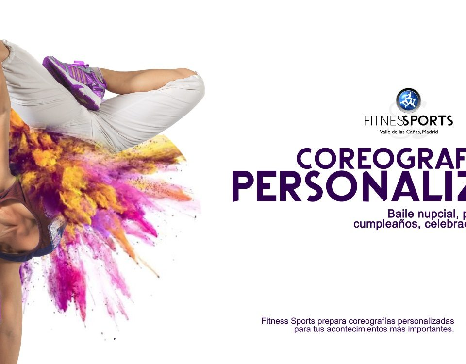 Coreografias Fitness Sports Perfect Pixel Publicidad Agencia Madrid Banner