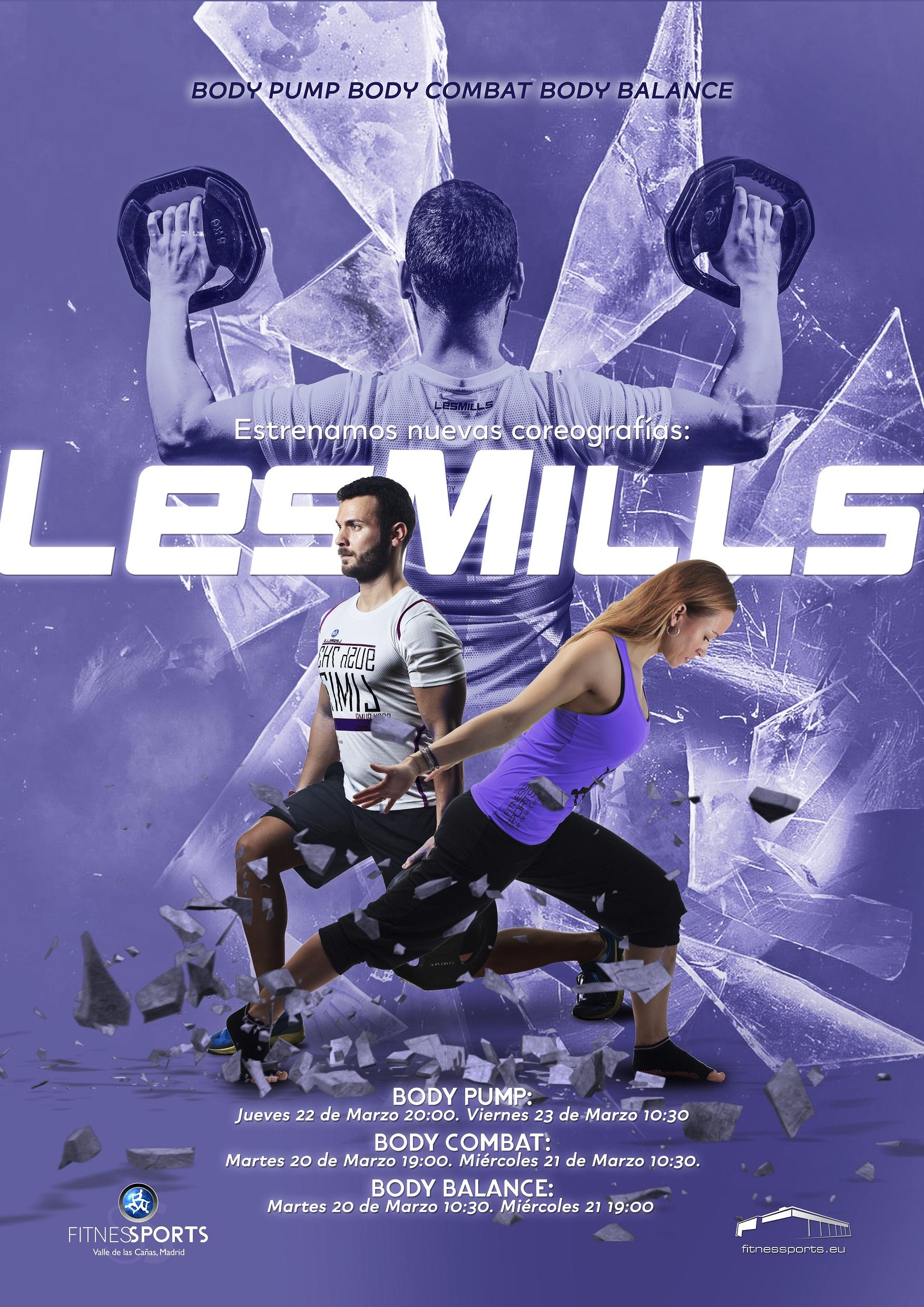 Presentaciones Les Mills Marzo 2018 Perfect Pixel Publicidad