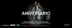 8 aniversario Fitness SPorts Banner