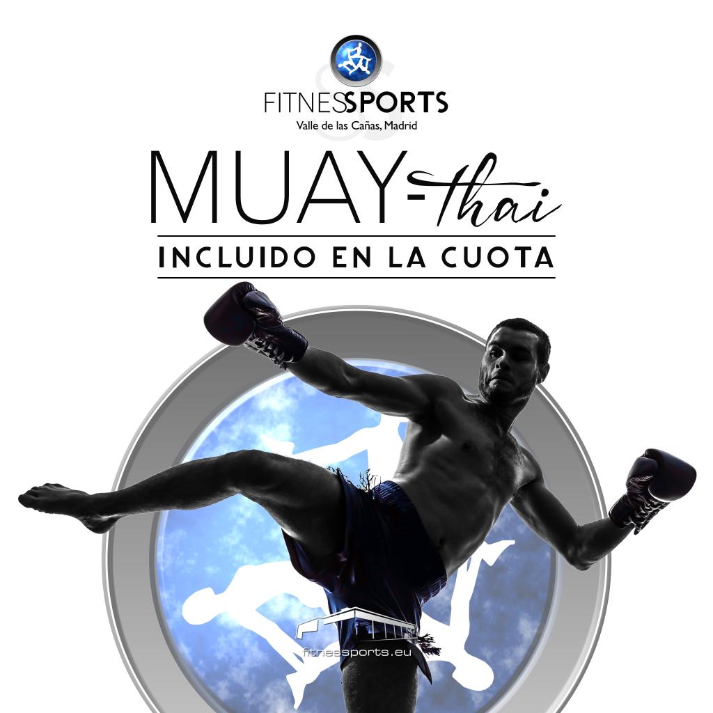 Muay Thai Fitness SPorts Valle las Cañas inlcuido en la cuota