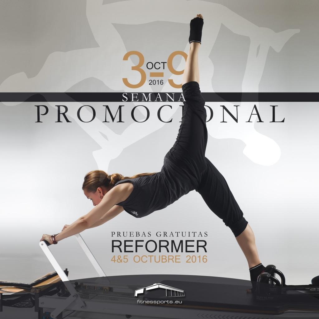 Semana Promocional Pilates Reformer Fitness Sports Valle las Cañas by PerfectPixel Publicidad Box
