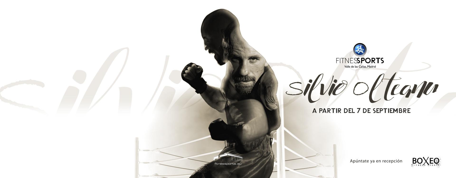 Silvio Olteanu Escuela de Boxeo en Madrid Fitness Sports Valle las Cañas by PerfectPixel Publicidad