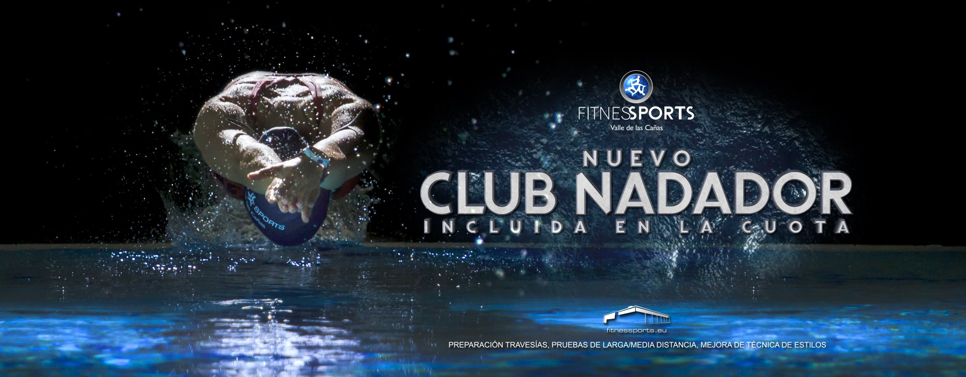 Club del Nadador FItness Sports Agencia Perfect Pixel Publicidad