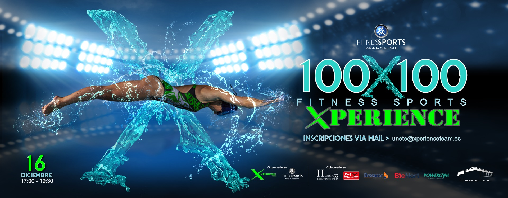 100x100 fitness sports xperience gimnasio en madrid for Gimnasio xperience