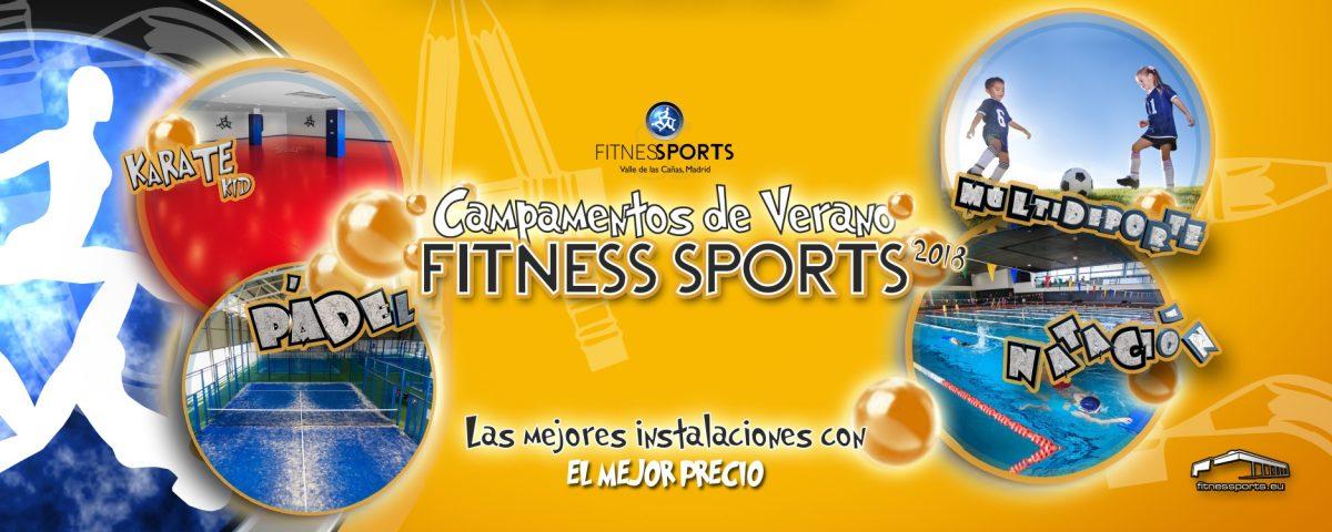 Summer School Campamentos verano Fitness Sports Perfect Pixel Publicidad