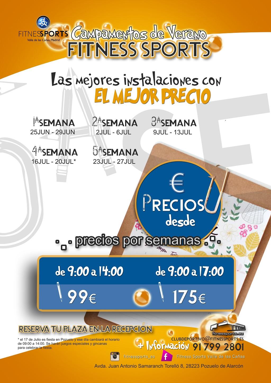 Summer School Campamentos verano Fitness Sports Perfect Pixel Publicidad Agencia
