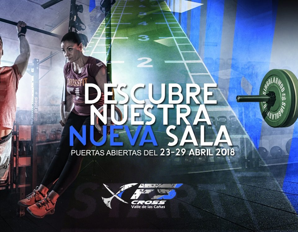 Nuevo box Crossfit FS Cross Training Valle de las Cañas Perfect Pixel Publicidad Banner